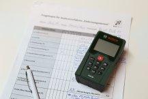 Ihr Entfernungsmesser in unserem Testverfahren
